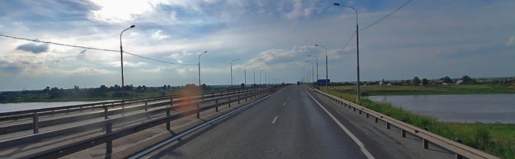 М10 Россия 524 км река Волхов