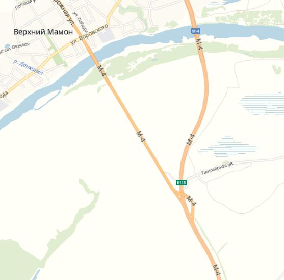 М4 Дон 712 км Воронежская область
